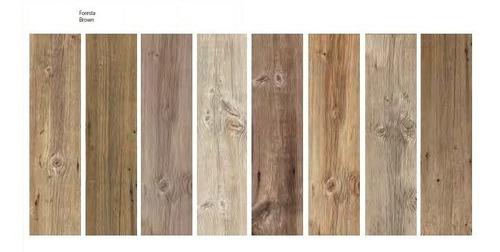 porcelanato tabla simil madera 22x85 español brown 1era