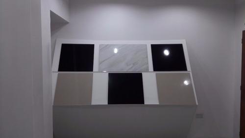 porcelanato travertino beige doble carga 60x60