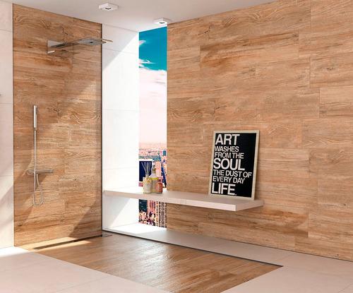 porcelanato villagres amendola madera 24,5x100cm - tucson