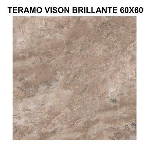 porcelanatos de piso y pared cerro negro teramo brillante 60x60 1ra