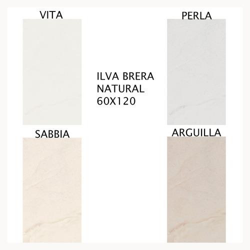 porcelanatos de piso y pared ilva brera natural 60x120 1ra