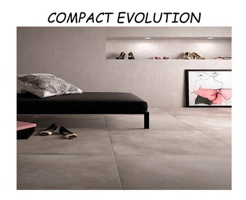 porcelanatos de piso y pared ilva compact simil cemento alisado 90x90 1ra