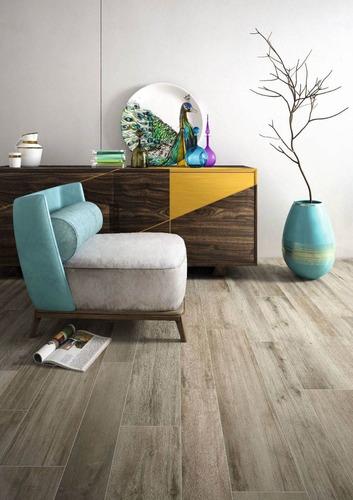 porcelanatos de piso y pared ilva identica simil madera 15x90 1ra