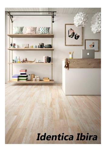porcelanatos de piso y pared ilva identica simil madera 22,5x90 1ra