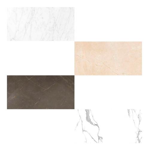 porcelanatos de piso y pared ilva lux simil marmol brillante 60x120 1ra