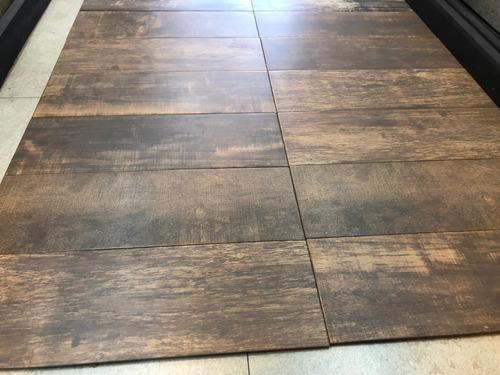 porcelanico simil madera medley cobre  20x60 alberdi