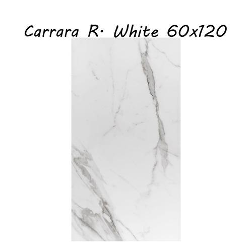 porcellanato carrara r. white 60x120 rectf. 1ra calidad