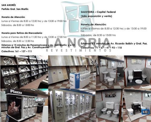 porcellanato el borne arena 59x59 1ra calidad san lorenzo