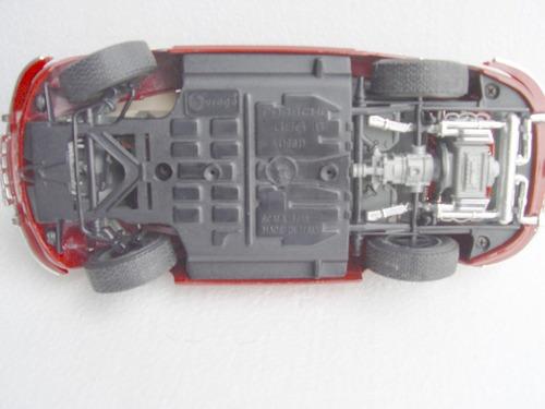 porche 356 vino   1961 marca burago italiano  escala 1:18