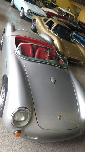 porche spyder 550 super 90 réplica da chamonix 1955