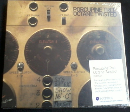 porcupine tree - octane twisted 2 cds 1er ed rock progresivo