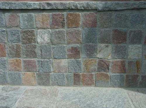 porfido patagónico revestimiento piso/pared 10 x 10 (fino)