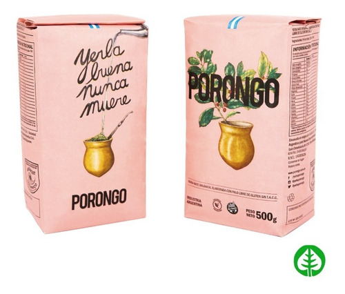 porongo yerba mate organica 500 g