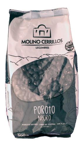 porotos negros molino cerrillos frijoles 500g sin tacc