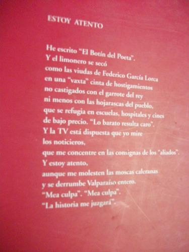 porque tú eres la cereza del reloj / raúl sharim paz, poesía