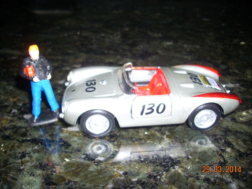 porsche 550 spyder + figura do james dean little bastard