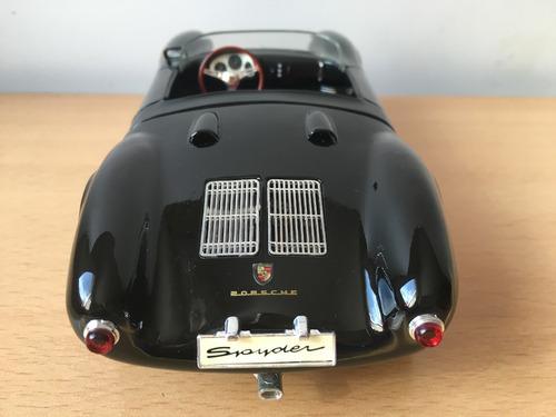 porsche 550a spyder (1955)  escala 1-18