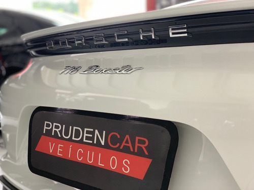 porsche 718 boxster 2.0 turbo gasolina pdk 2017 branca