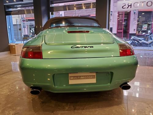 porsche 911 carrera 1999  cabriolet unico!