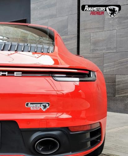 porsche 911 carrera s coupe, 3.0t, 450 hp, ta,rojo,2020