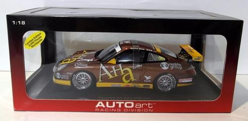 porsche 911 gt3 cup car 2004 escala 1:18  autoart 80489