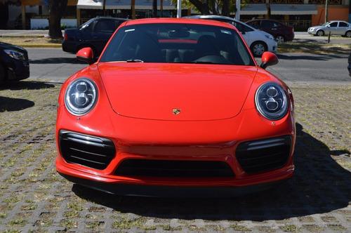 porsche 911 turbo s 2018 rojo
