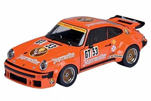 porsche 934 rsr jagermeister #53 orange 1/18 by schuco