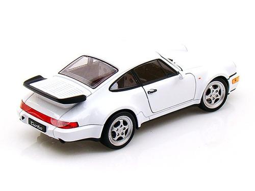 porsche 964 turbo 1:24 scale - welly  diecast