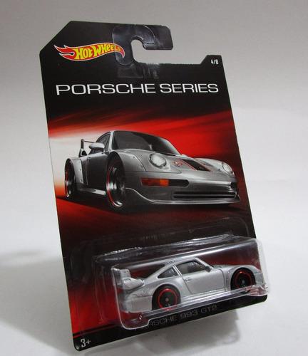 porsche 993 gt2 escala 1/64 coleccion hot wheels