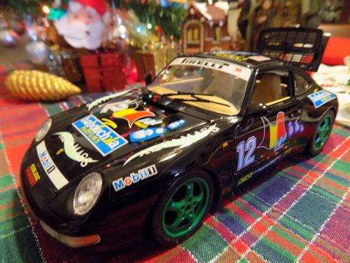 porsche carrera 911 1993 rally .burago1/18. impecable