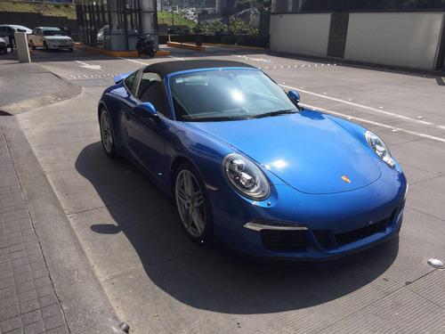 porsche carrera 911 targa 4s 2015 como nuevo super equipado
