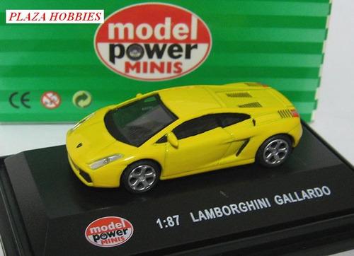 porsche carrera gt; lamborghini gallardo,1/87. model power.!