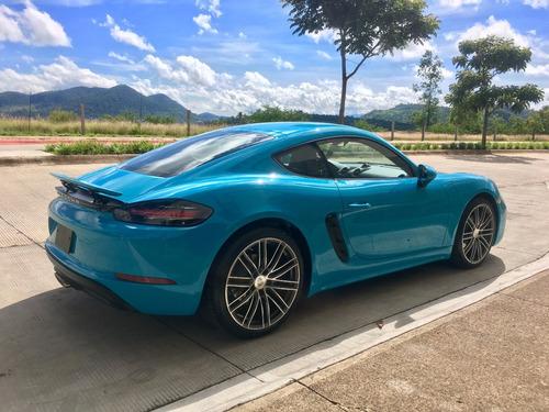 porsche cayman 718 miami blue