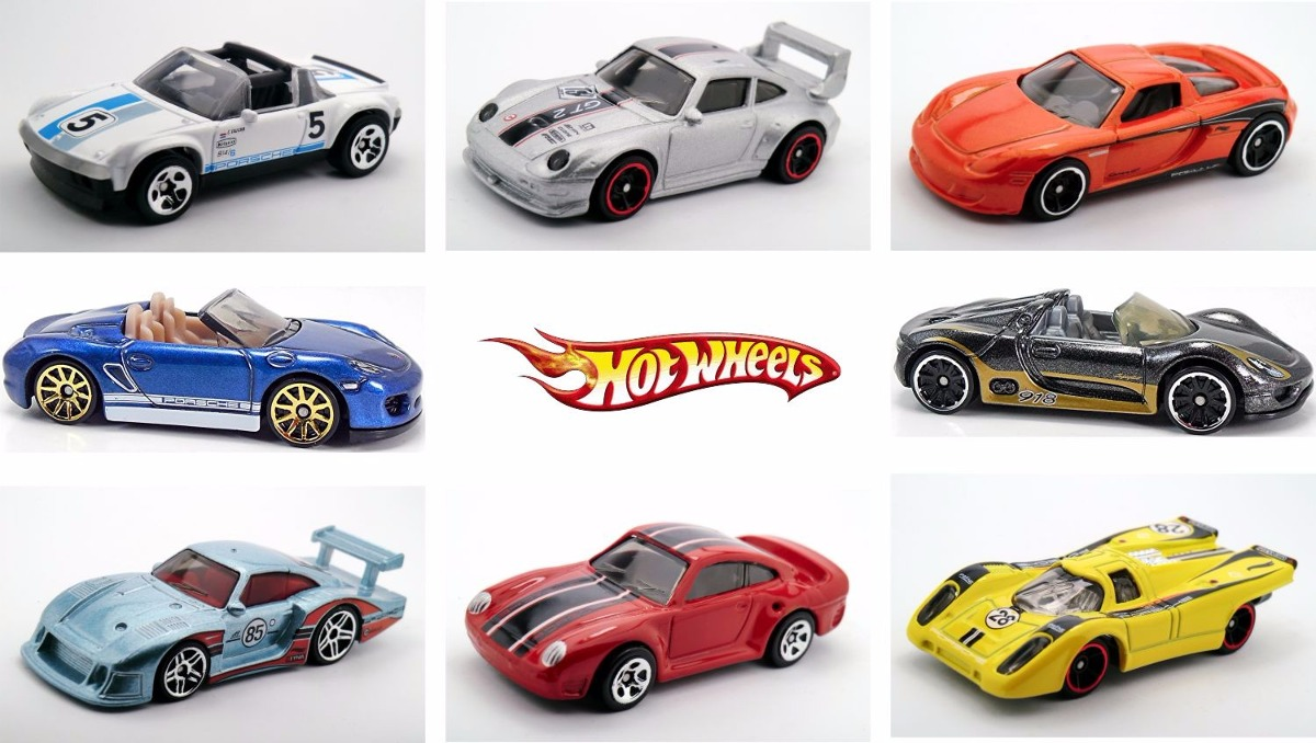 Porsche series 2015 hot wheels 8 autos env o gratis dhl - Porche para autos ...