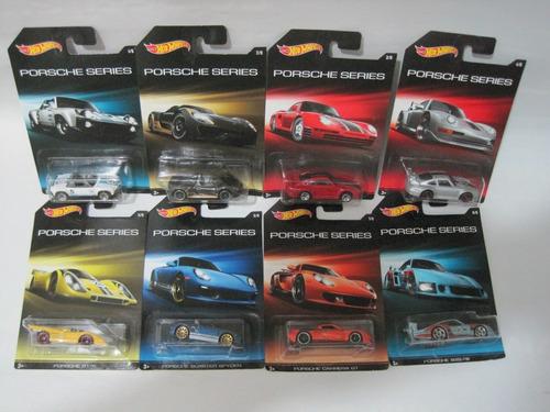 porsche series 8 modelos hotwheels mattel hot wheels diecast