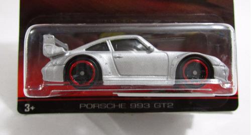 porsche series 993 gt2 escala 1/64 coleccion hot wheels 6cm