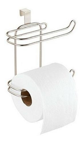 porta 2 rollo papel higienico para mochila cromado