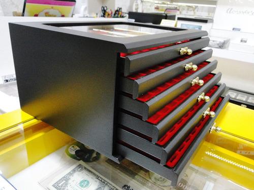 porta 60 caneta estojo album case coleção tinteiro canetas