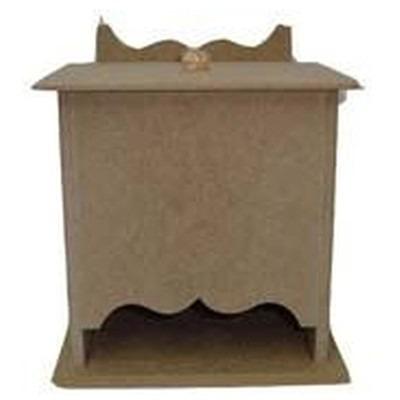 porta absorvente cast tampa solta de madeira mdf