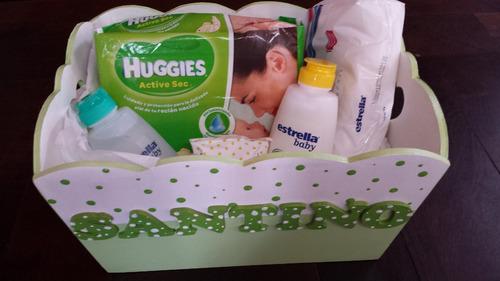 porta ajuar personalizado. regalos para bebés y niños