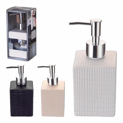 porta álcool gel sabonete líquido higiene banheiro porcelana