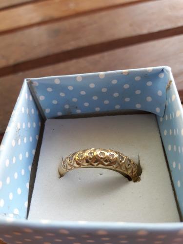 porta aliança em ouro