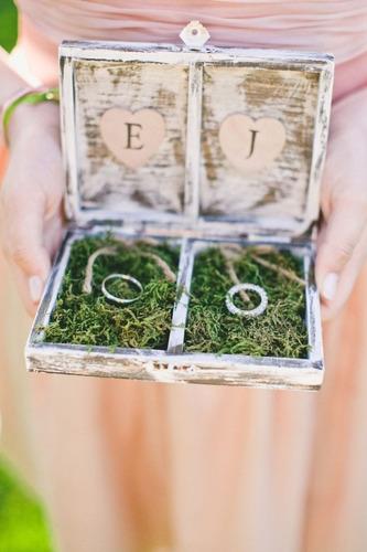 porta alianzas , porta anillos de boda - personalizados