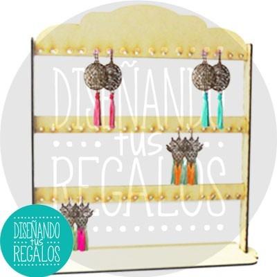 porta aros organizador escudo (p24 pares) fibrofacil ppintar