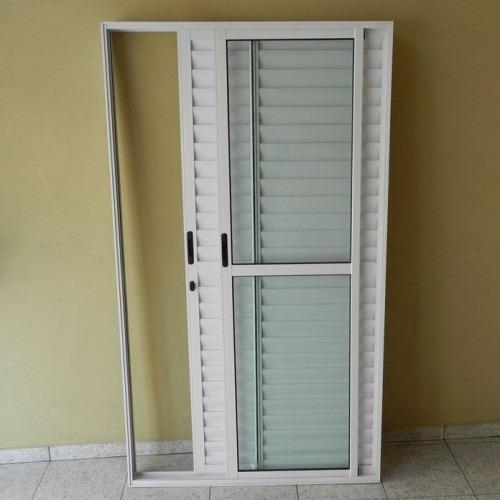 Porta Balc O 3 Fls Alum X Branca L 25 Promo O