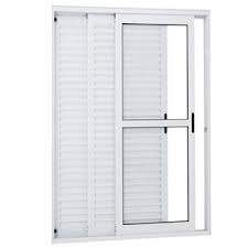 porta balcão 3..fls. alum 2.10 x 1.50 branca l-25 promoção