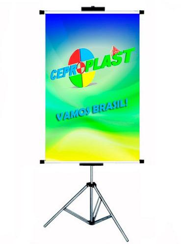 porta banner c/ garras 1,80 suporte pedestal envio imediato