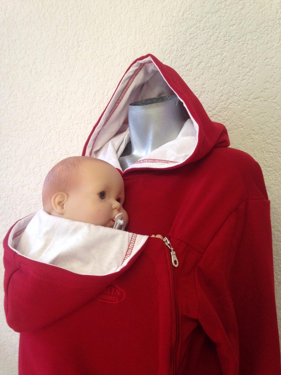 Sudadera porta beb fular maternidad canguro mam porteo - Felpa porta bebe ...