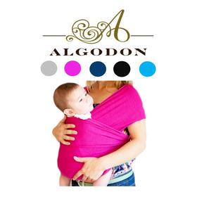 Porta Bebe Fular Algodon Ergonomico Marsupial Baby Chacao