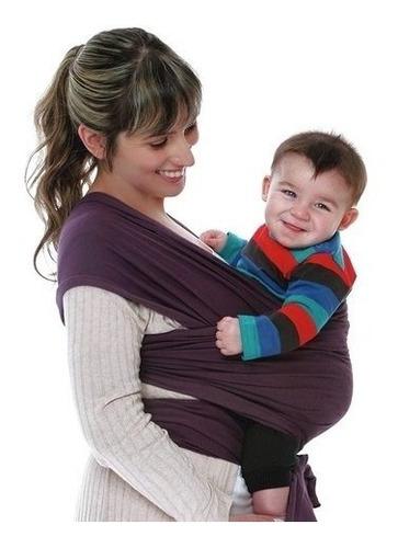 porta bebe fular wawita jersey de algodon original babymovil